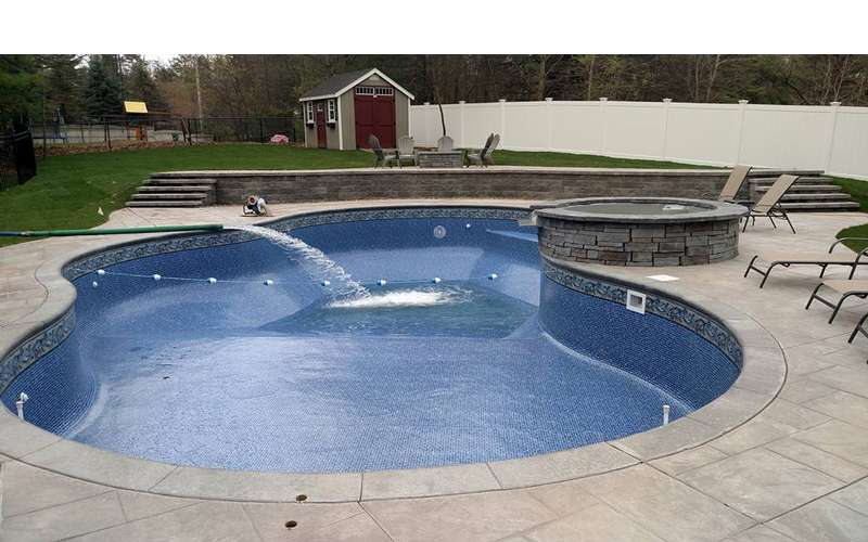 Filling swimming pools