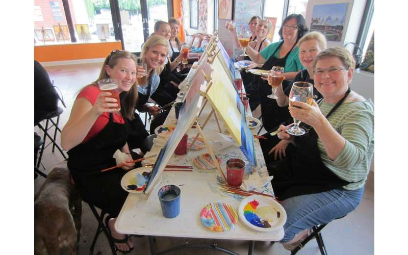 Saratoga Paint and Sip Studio (5)