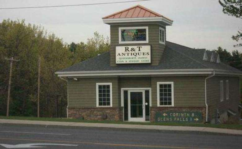Exterior of R & T antiques