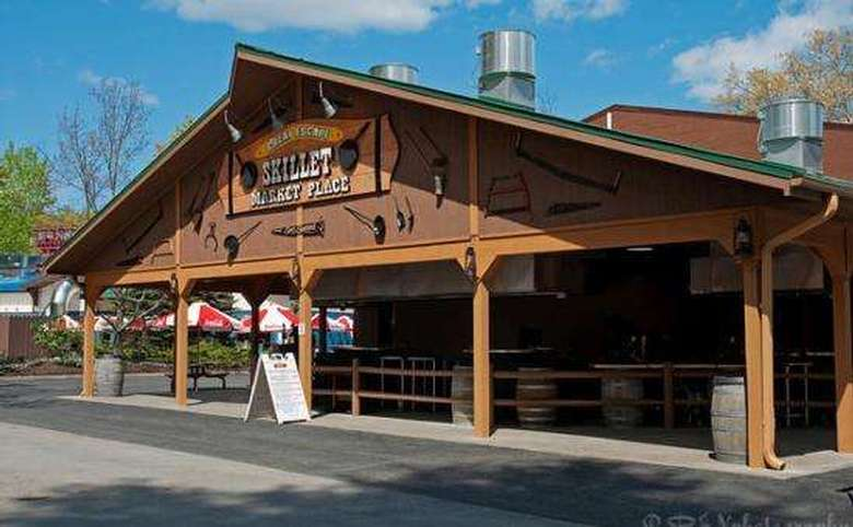 Exterior of Skillet Market place at the Great Escape