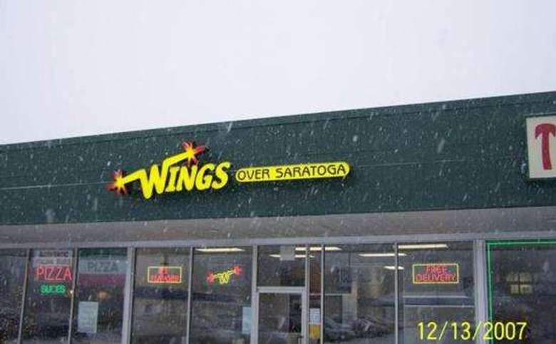 Exterior of Wings Over Saratoga
