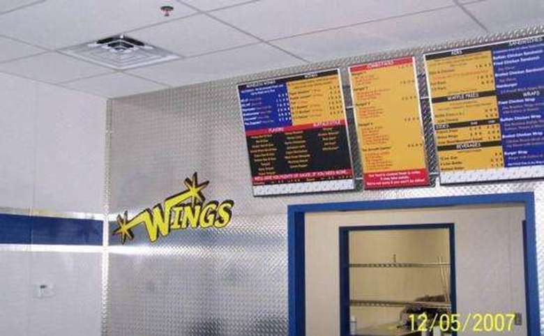 Interior of Wings Over