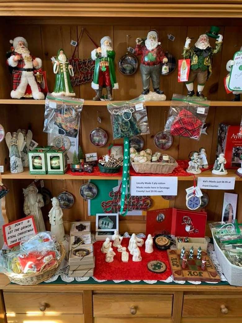Celtic Treasures Holiday Selections of Irish Figurines and Trinkets for the 2020 Christmas Season