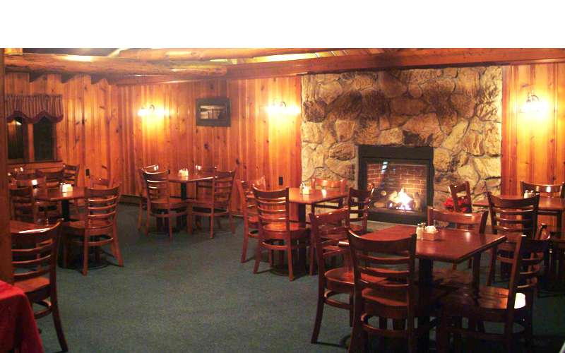 Enjoy fireside dining in the Long Horn's large side room -  the perfect way to escape those cold winter evenings.