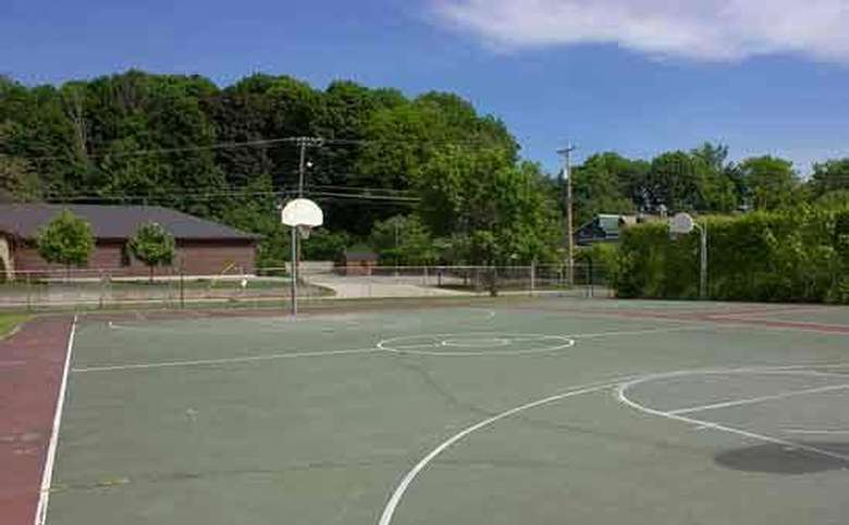Another shot of the Basketball Court
