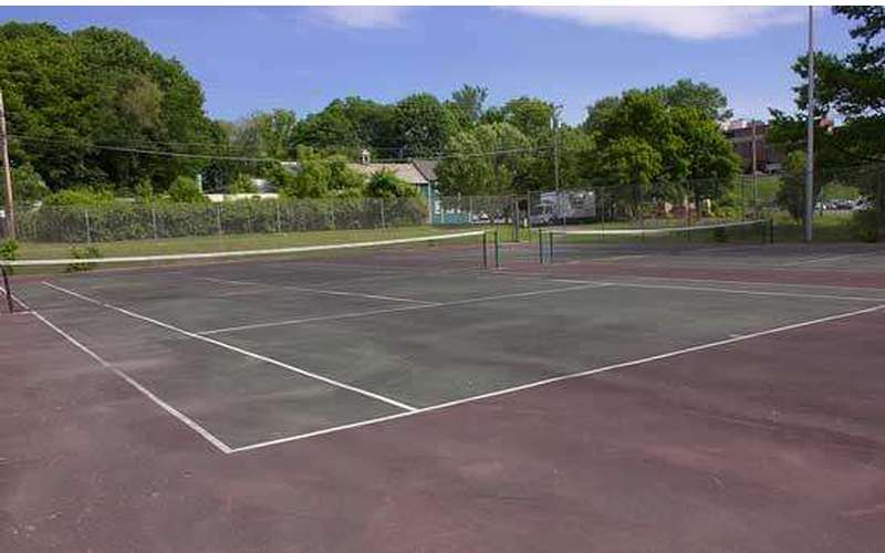 Tennis Court in Glens Falls