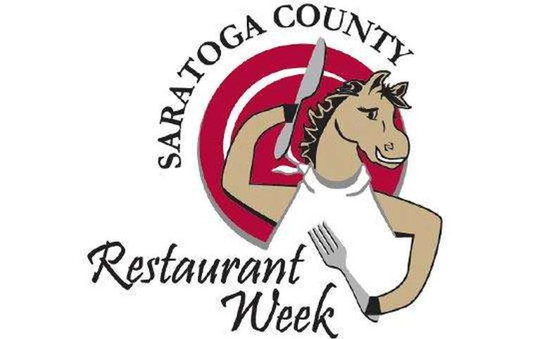 saratoga county restaurant week logo