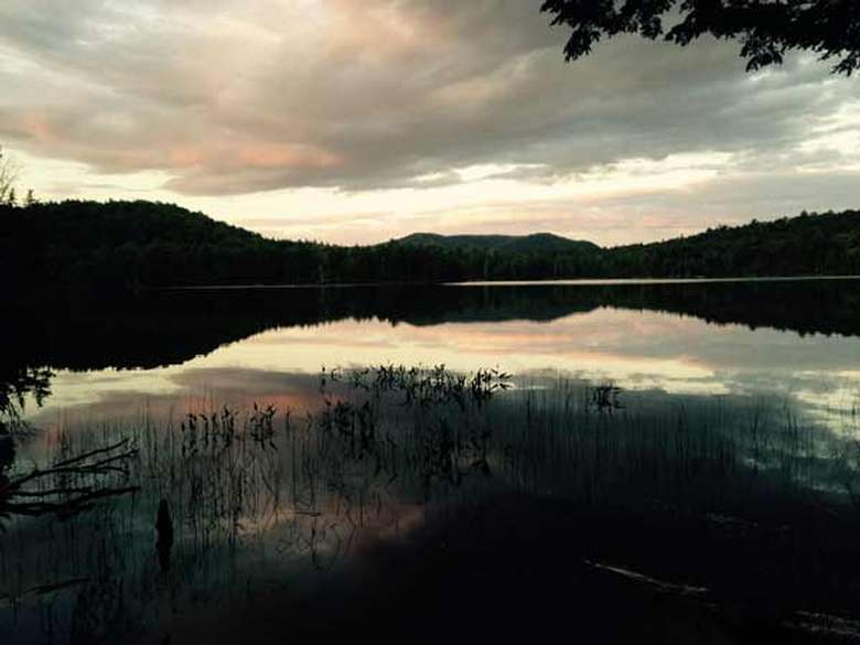 Mason Lake at dusk. Photo Credit: Chris Knapp
