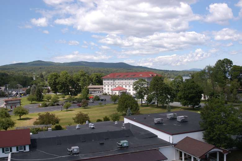 view of fort william henry from neighboring property