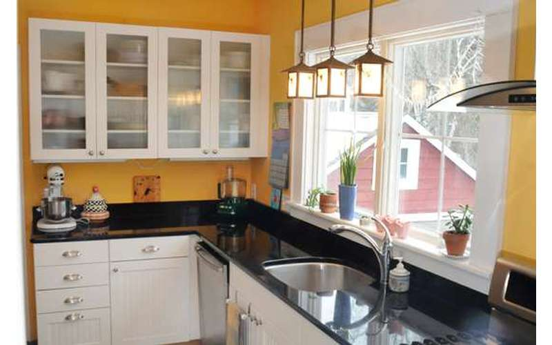 Kitchen remodel & granite top