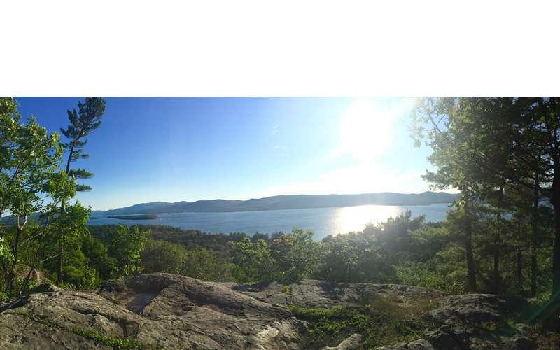 Panoramic Image of Lake George