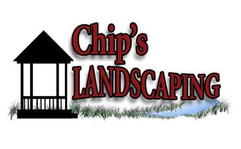 chip's landscaping logo