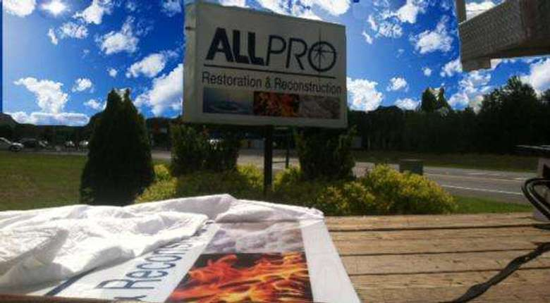 allpro restoration & reconstruction sign