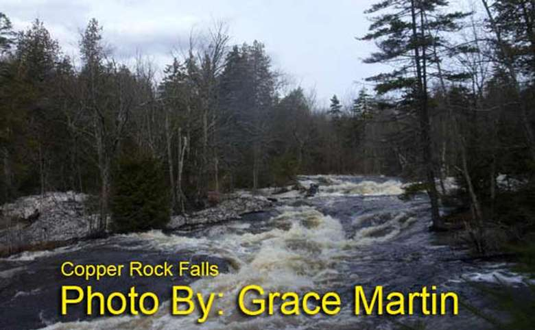 river with sections of rapids and photo credit to grace martin