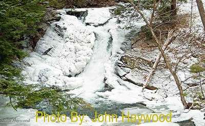Hague Brook Falls