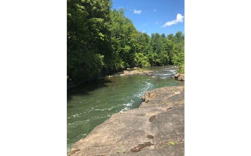 LaChute Falls In Ticonderoga NY Explore The LaChute River Walk Trail - A long river