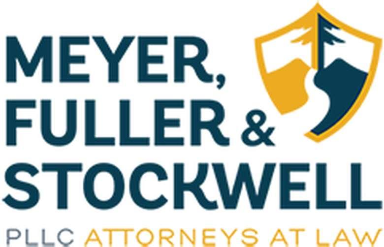 the logo for meyer, fuller & Stockwell pllc