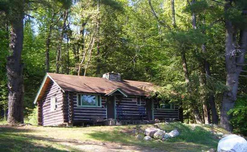 One of four cabins to rent
