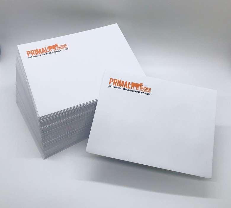 custom envelopes for Primal Butcher