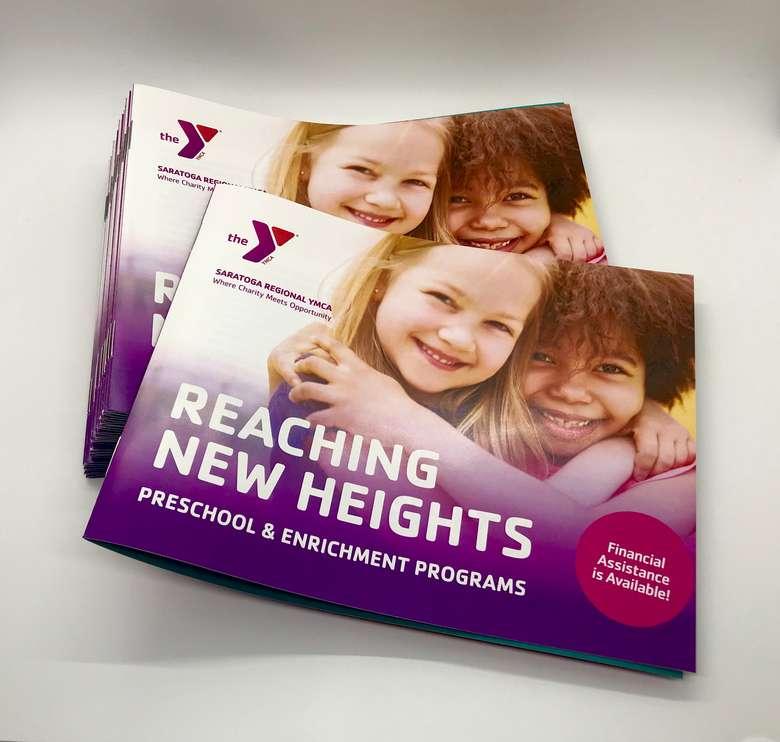 YMCA brochures