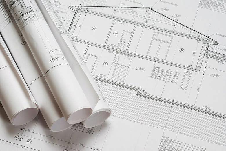 architecture house blueprints
