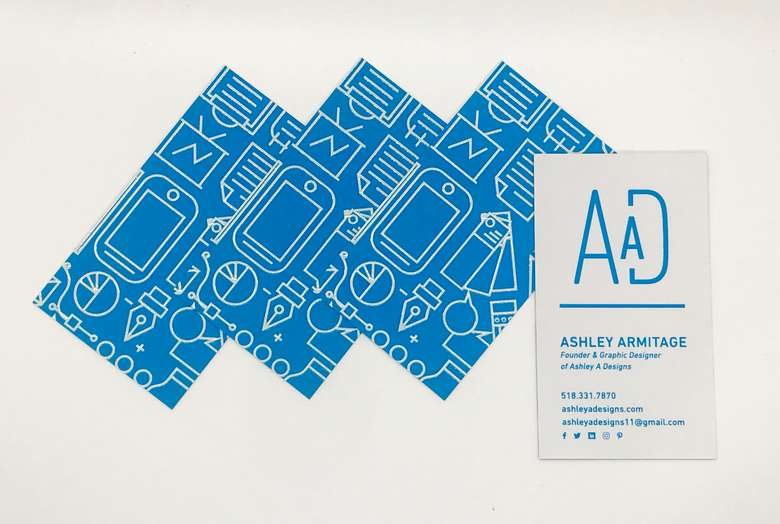 business cards for Armitage