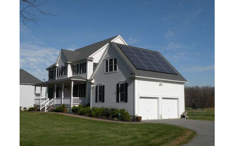 Achieve energy independence at home with a full solar system.
