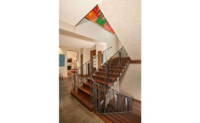 large stairwell that goes up and down