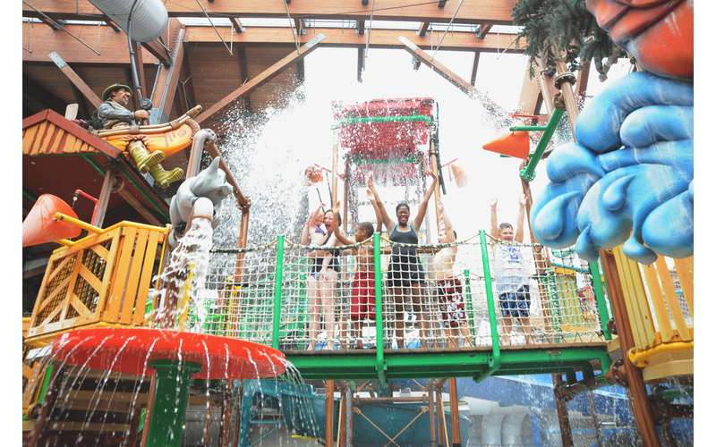 Indoor Waterpark is free for our  guests