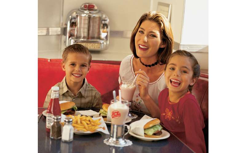 Visit our restaurant on-site: Johnny Rockets