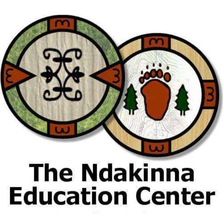 the logo for the ndakinna education center