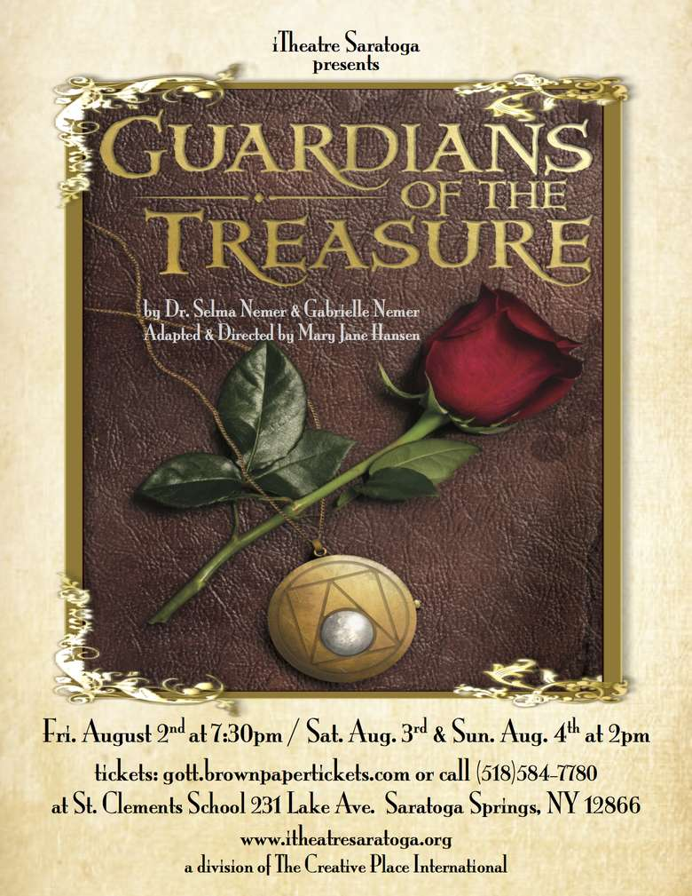 poster advertising guardians of the treasure