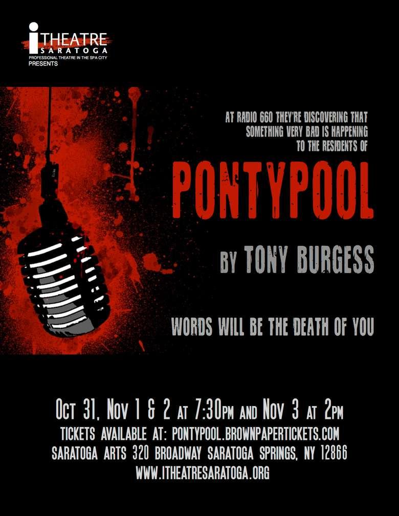 poster advertising pontypool