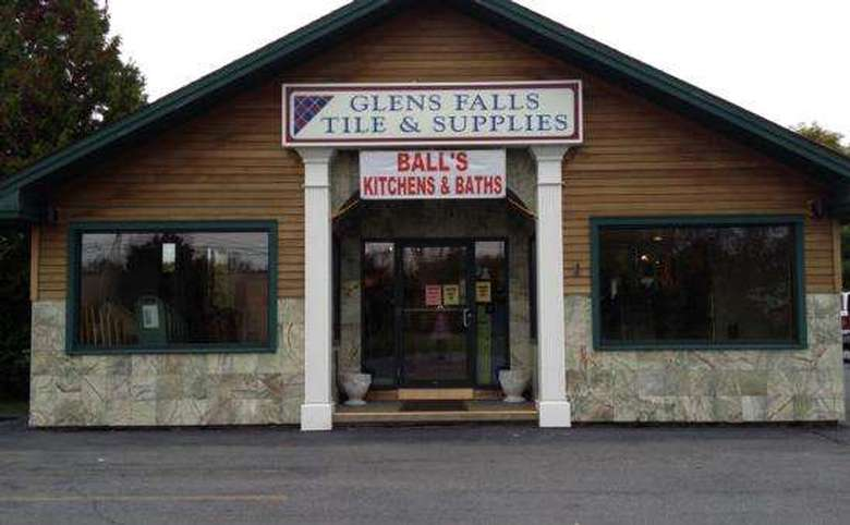 front entrance of glens falls tile and supplies