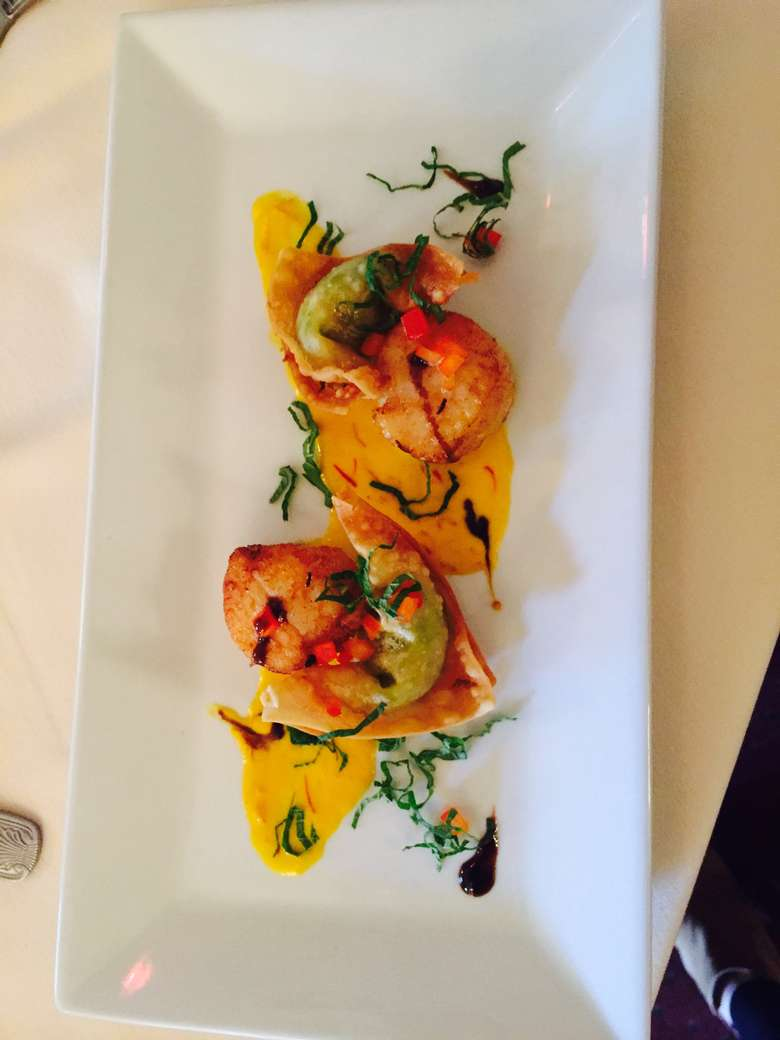 small appetizer on a plate
