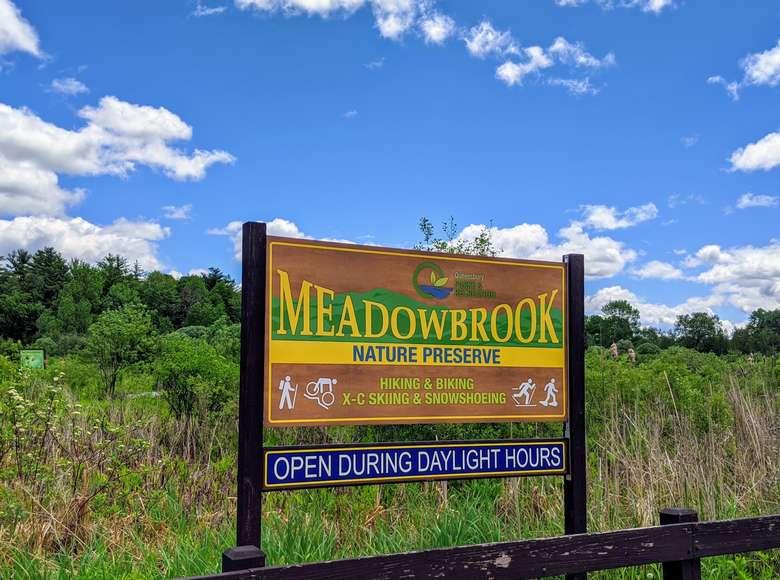 Meadowbrook sign