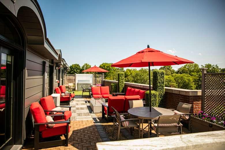 rooftop patio deck