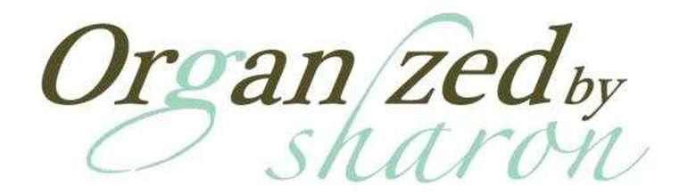 organized by sharon logo