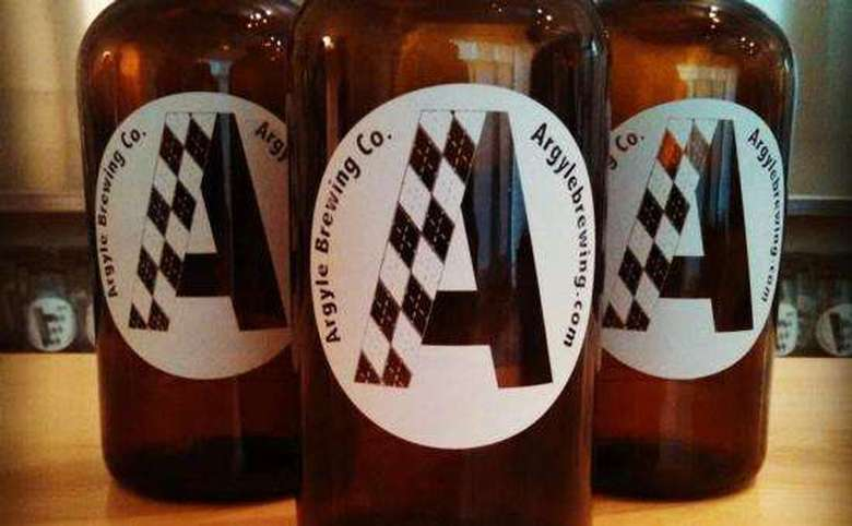 three argyle brewing company growlers
