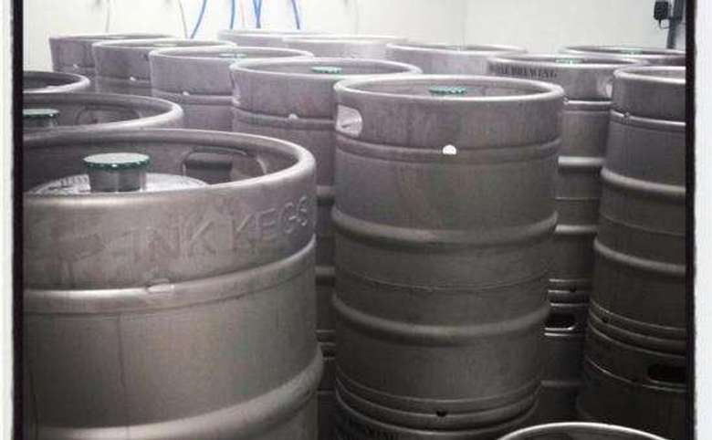 many kegs of beer