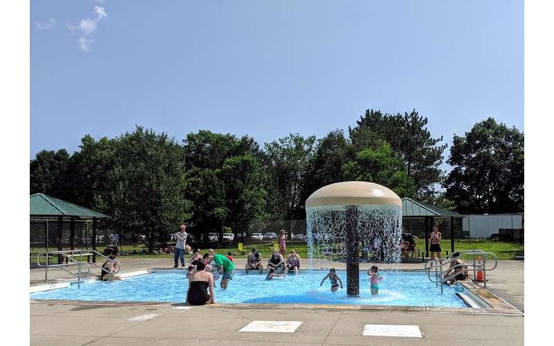 Peerless Pool in Saratoga Springs, NY: Swim at Saratoga Spa