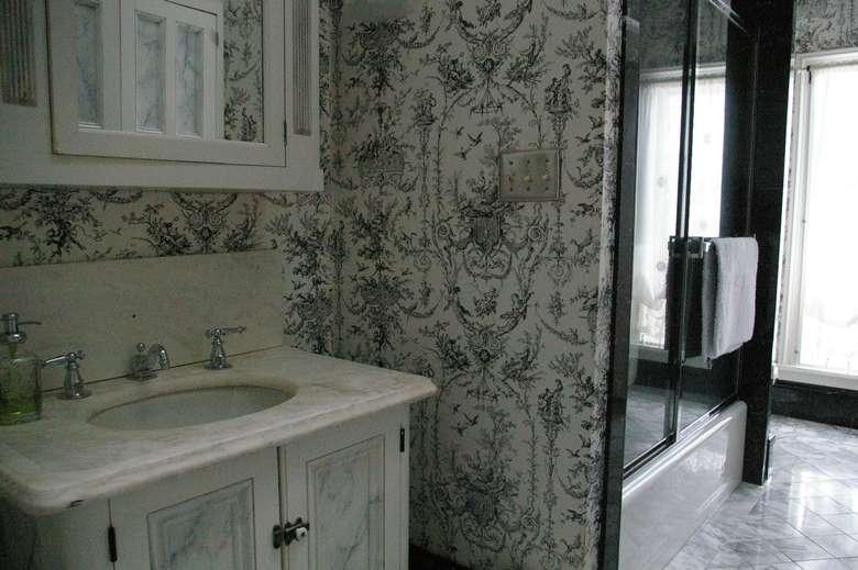 sink inside a bathroom