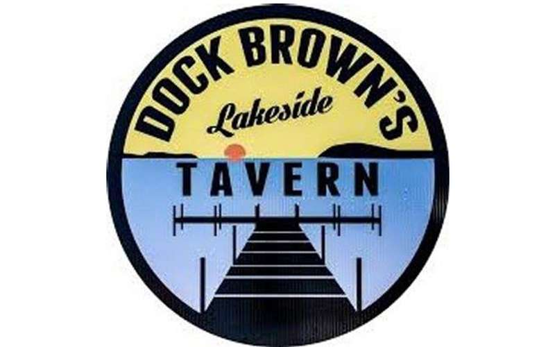 Dock Brown's Lakeside Tavern logo