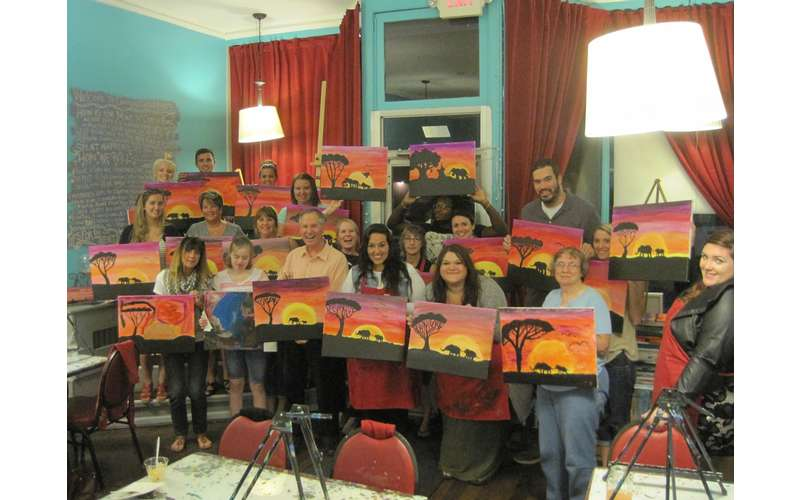 Canvas, Corks & Forks - Schenectady (6)