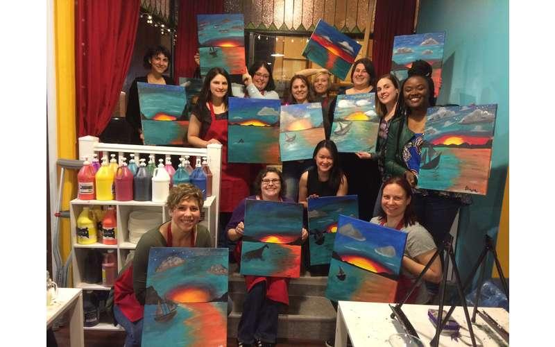Canvas, Corks & Forks - Schenectady (8)