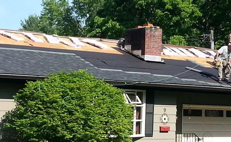 Roof in Queensbury