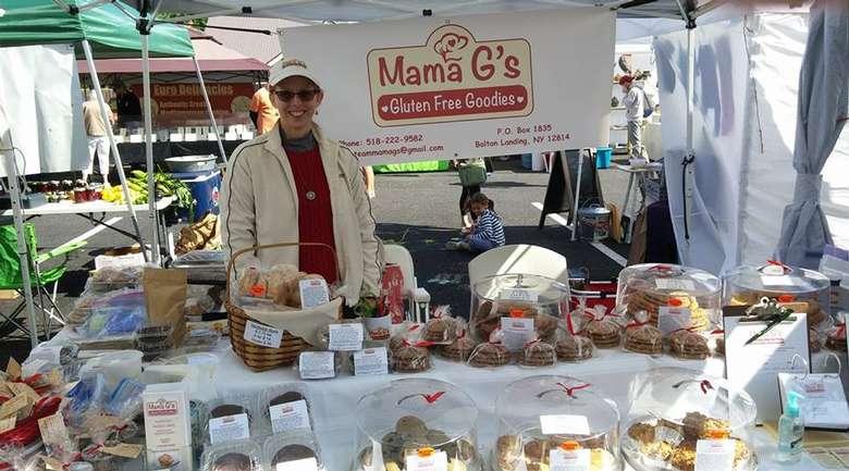 Mama G's Gluten Free Goodies vendor booth