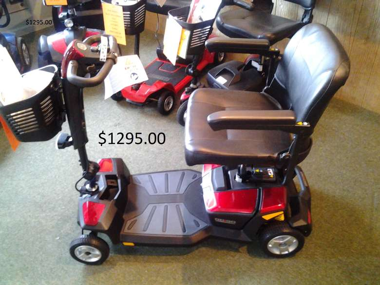 Transportable scooters for sale or rent.