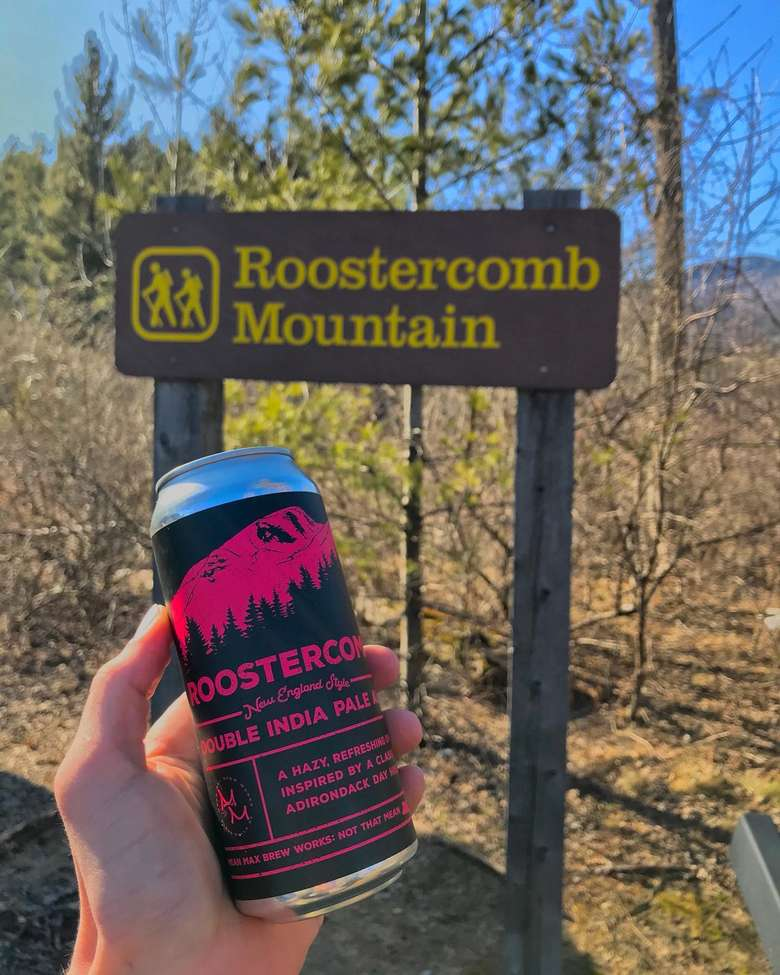 roostercomb beer by roostercomb mountain trailhead
