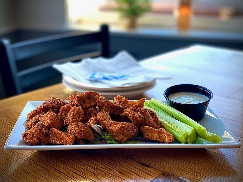 Texas Dry Rub Chicken Wings
